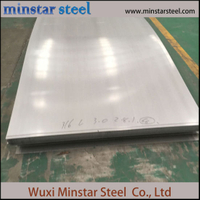 Ketebalan 12mm ASTM A240 304 Austenitic Stainless Steel Sheet Hight Hardness